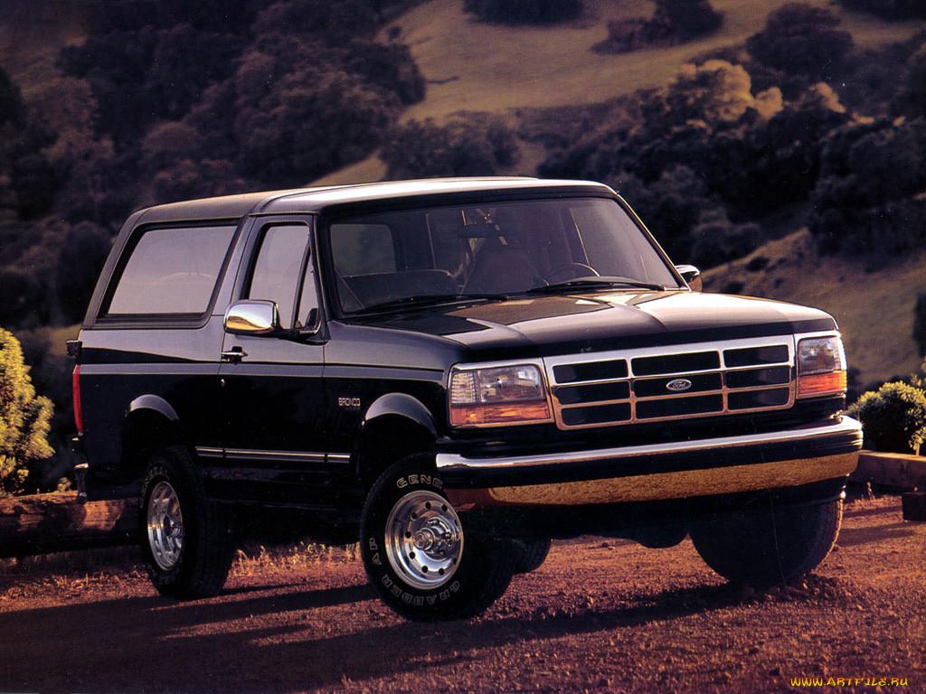 Фото Ford Bronco 1.